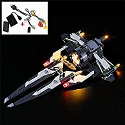 The item is a DIY LED Light for Lego 75242 Star Wars Resistance Black Ace TIE Interceptor(NOT include the Lego Set). Easy Operate: The light set is powered by USB, you will get extra battery case, so you can start it via battery as well, which will b...