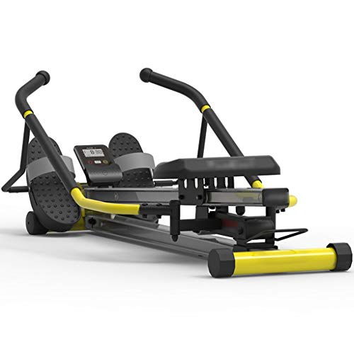 Best Bargain Rowing Machine Foldable Silent with Data Display,Adjustable Suspension Rowing Training ...