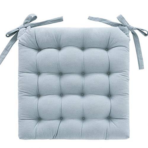 Coussin rembourré de style japonais avec coussin rembourré chaise rembourrée (Couleur : Green, taille : 45x45CM)