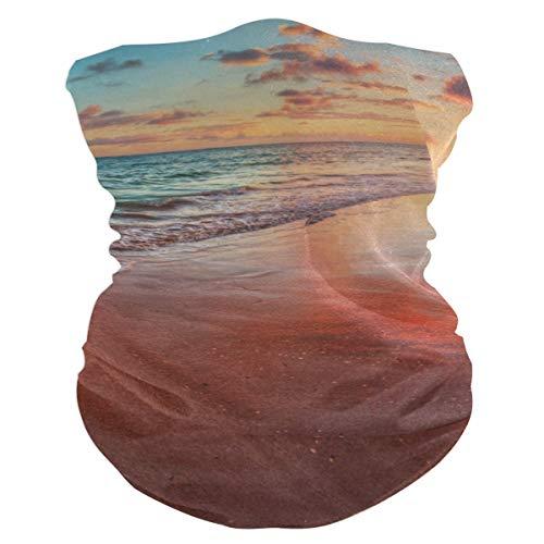 Outdoor Magic Stirnband Erstaunlich bunt Sea Beach Sunset Reflektierender Schal UV-Widerstand Sport Kopfbedeckung Serie Für Yoga Wandern Reiten Motorradfahren