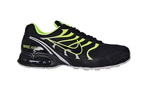 NIKE Air Max Torch 4 Men's Running Shoe Black/Volt-Atmosphere Grey Size 9 US