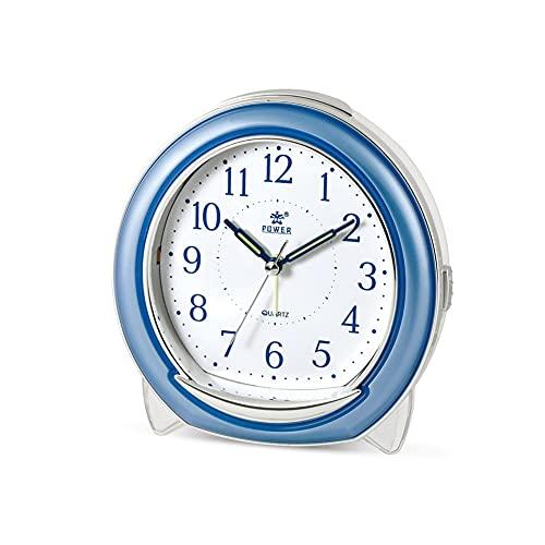 SSMDYLYM Reloj despertador, alarma de llamada de pájaro, reloj de noche para estudiantes con luz nocturna en el dormitorio