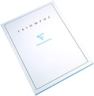 Clairefontaine 6174°C Writing Pad Ruled 50Sheets Sheets Triumph 21x 29.7cm 90g White