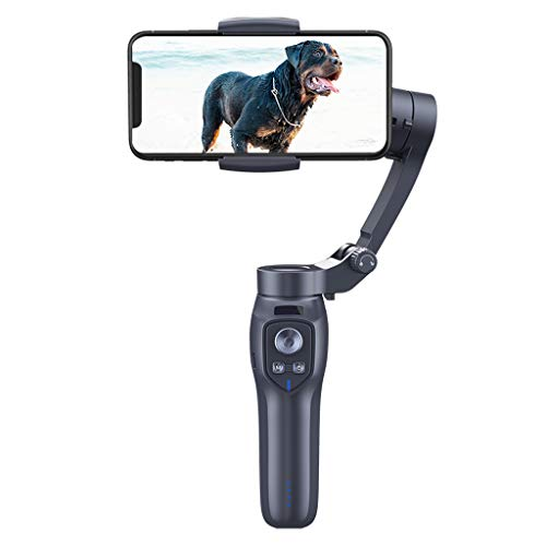 WZHZJ Teléfono Estabilizador de 3 Ejes Smartphone Smartphone Estabilizador Bluetooth Cámara Gimbal