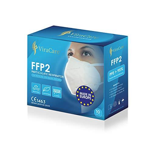 FFP2 KN95/N95 Disposable Respirator Protective Face Masks 5 Layer...