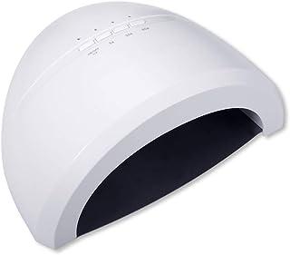 PORIN Lámpara de Secado de uñas para uñas Luz LED curada con UV 3 Modos de temporización 48W de Potencia 30 Blubs LED Inducción infrarroja Inteligente Calentamiento Uniforme Secado rápido