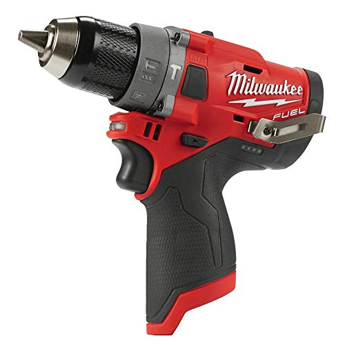 Milwaukee M12FPD-0 Drill M12 FPD/0 4933459801 Battery Without Charger 12V, 12 V, Red & Black