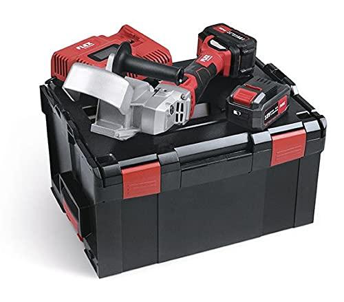 Flex 504165 Juego entrada RFE 40 18.0-EC/5.0 (batería fresadora 18 V, con accesorios), Rojo y negro