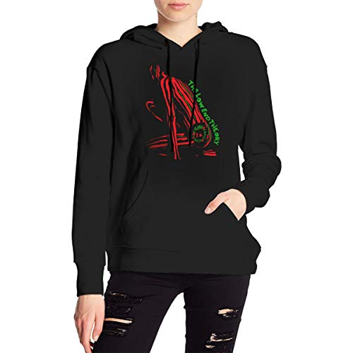 A Tribe Called Quest The Low End Theory Hoodie Long Sleeve Sweatshirt with Kangaroo Pocket Women Hoody Black