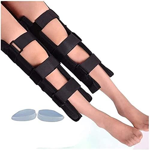 FACAZ Corrector de Postura de piernas, Ajustable O-Leg X-Leg Cinturón de corrección Pierna Recta Adultos Niños...