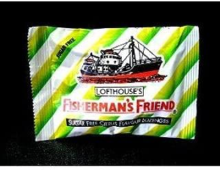 6x Fisherman's Friend Sugar Free Citrus Flavor Lozenges Relief Sore Throat Cold