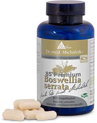 Weihrauch - Boswellia serrata, 100% indischer Weihrauch, Boswelliasäure 85 % hochdosierte Weihrauchtabletten nach Dr. med. Michalzik - Weihrauchkapseln ohne Zusatzstoffe von BIOTIKON®