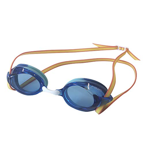 Finis Blue/Yellow Tide Goggle, Unisex-Adult, One Size