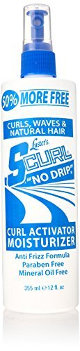 Luster's S-Curl No Drip Activator and Moisturizer, 12 Ounce by Lusters