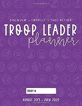 Troop Leader Planner: 2019-2020 Organizer For Junior & Multi-Level Troops