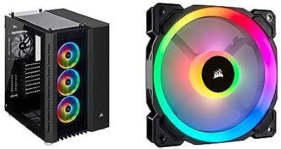 Corsair 680X RGB Black Case and LL120 RGB Single Pack Fan