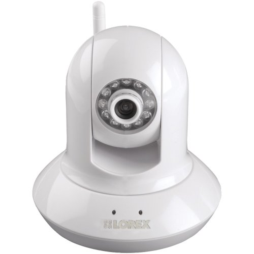 Lorex LNZ4001i Wireless Pan Tilt Easy Connect Network Camera (White)