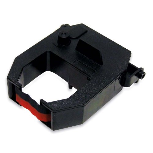 Replacement Ribbon Cartridge for Amano CP5000 (Two Color Black/red Ink)
