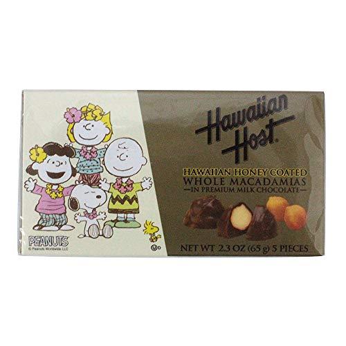 スヌーピーと仲間たち ハワイアンハニーマカデミアナッツチョコレート(5粒)×6箱 輸入チョコレート ハワイのマカデミアナッツチョコレート 輸入菓子 輸入ナッツ 海外ナッツチョコレート スヌーピー チョコレート