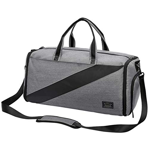 Travel Garment Bag Suit Bag Weekender Bag Duffel Overnight Bag with Shoe Compartment with...