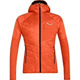 Salewa Herren Ortles Hybrid Jacke, red orange, XL