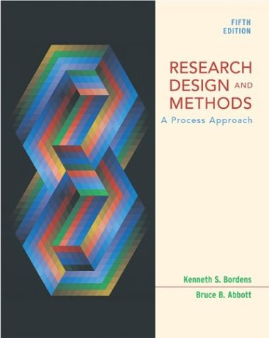 Research Design and Methods: A Process Approach with Student CD-ROM and PowerWeb