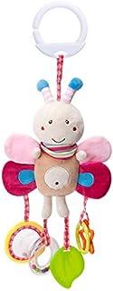 لعبة مقعد سيارة، خشخيشات ناعمة معلقة من القطيفة على شكل ارنب لسرير الاطفال، العاب للاطفال الرضع الاولاد والبنات