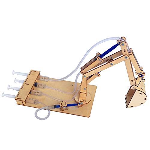 Moligh doll Hydraulik Bagger DIY Student Technologie Kleine Produktion Wissenschaft und Bildung Spielzeug Modell Wissenschaft Experiment Spielzeug