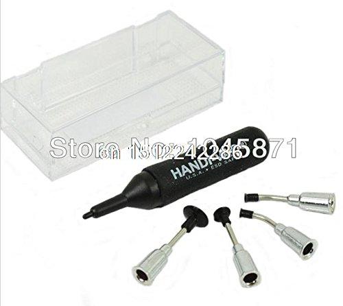 M022 Mini SMT/SMD IC Pickup Stofzuiger Pomp Pen Hand Tool met 4 koppen Set