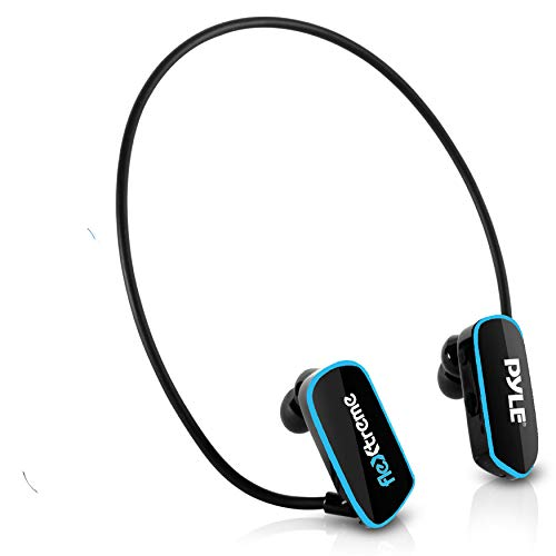 Waterproof MP3 Player Swim Headphone - Submersible IPX8 Flexible...