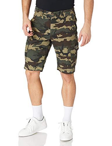 Superdry Mens CORE Cargo Shorts, Camo, 30