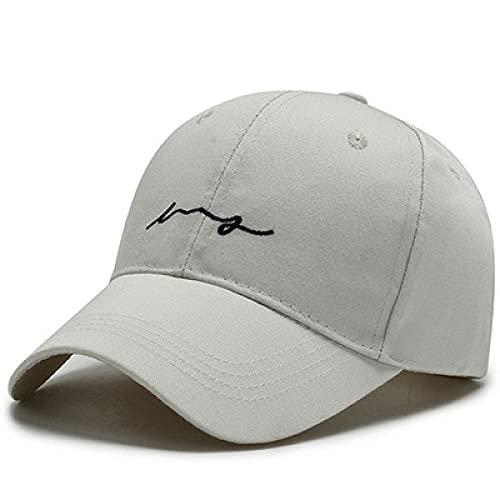 BOIPEEI Gorra de béisbol para Hombre Sombrero de Golf Gorras de Baloncesto Gorras de algodón Gorra de béisbol para Hombres Sombreros para Hombres y Mujeres Gorra con Letras
