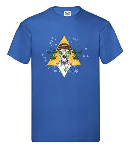 Camiseta unisex para niños y niñas de Camel Marihuana gafas Jamaica