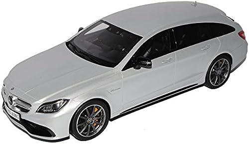GT Spirit Mercedes-Benz CLS 63 AMG X218 Shooting Break Silber Ab 2011 Ab Facelift 2014 Nr 725 1 18 Modell Auto mit individiuellem Wunschkennzeichen
