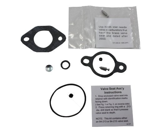 12 757 03-S Carburetor Repair Kit-Genuine Kohler Replacement Part Outdoor, Home, Garden, Supply, Maintenance