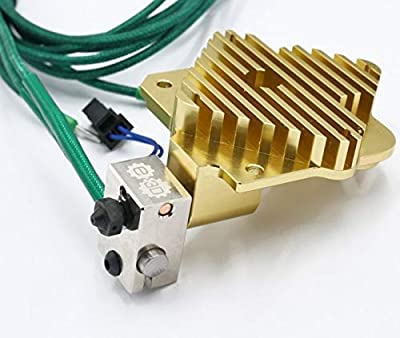 Genuine Titan Aero Gold Extruder HotEnd Kit for 3D Printer (3.00mm, 24V)