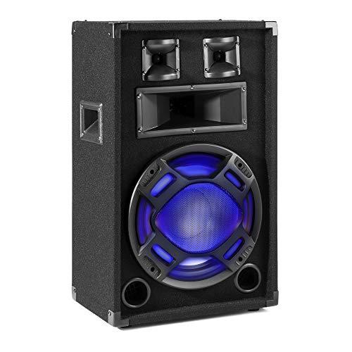 FENTON BS12 BAFLE PA NEGRO 12' LED 600W / 300W RMS