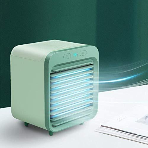 LIPOSTIDES Mini USB Portable Air Cooler Fan Air Conditioner Light Desktop Air Cooling Fan Humidifier Purifier For Car Office
