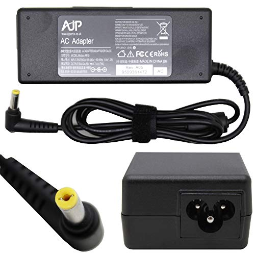 Wikiparts* New 90W 19V 4.74A Replacement Charger For Acer HIPRO HP-A0904A3 Laptop Notebook Ac Adapter Power Supply Battery Charging Unit PSU Free UK Power Cable With 12 Months Warranty