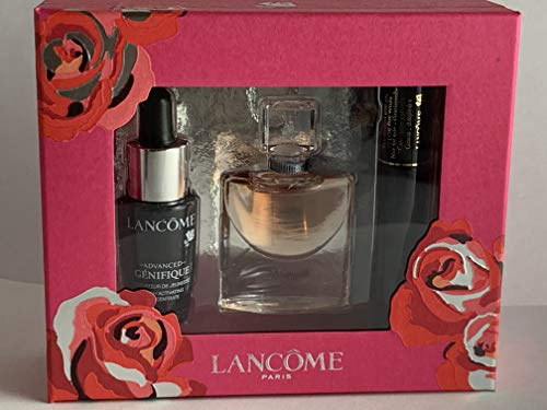 Lancome - La Vie Est Belle Travel Set 4 ml EDP + Hypnose Mascara 2 ml + 7 ml Advanced Genifique