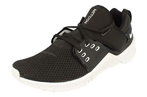Nike Free Metcon 2 Uomo Running Trainers AQ8306 Sneakers Scarpe (UK 6.5 US 7.5 EU 40.5, Black White 004)