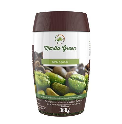 Marita Green ZERO Azucar (Caramelo funcional de Svetol para adelgazar y controlar el peso con extracto de café verde)