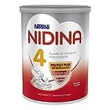 Nestlé NIDINA 4 Leche de crecimiento en polvo, fórmula infantil, a partir de los 24 meses - 800 gr