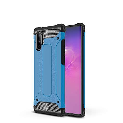 GUOQING Carcasa de acero para Samsung Galaxy Note10 Pro, resistente y duradera, funda protectora de grado militar, goma interior suave de TPU + PC avanzada.