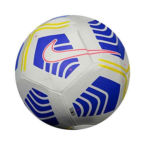 Nike - Balón de fútbol Pitch Balón fútbol talla 5 CQ7323 100 blanco - 5, blanco