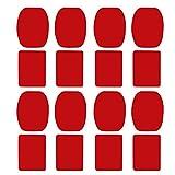 colinsa Etiqueta Adhesiva de Soportes curvos Planos - Etiqueta Adhesiva de Almohadillas - Kit de Accesorios de Almohadillas para GoPro Hero Xiaomi Yi 4K EKEN H9