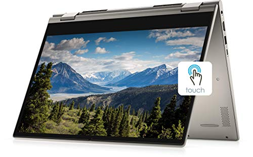 "2021 New Dell Inspiron 14"" HD 2-in-1 Touch-Screen Business Laptop, Intel Core i5-1135G7 (Beats i7-10th), 16GB RAM, 256GB SSD, Webcam, Backlit Keyboard, Fingerprint Reader, Windows 10"