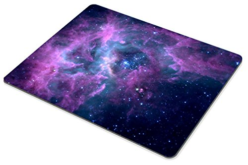 Smooffly Mouse Pad Purple Galaxy Customized Rectangle Non-Slip Rubber Mousepad Gaming Mouse Pad Mat Photo #3