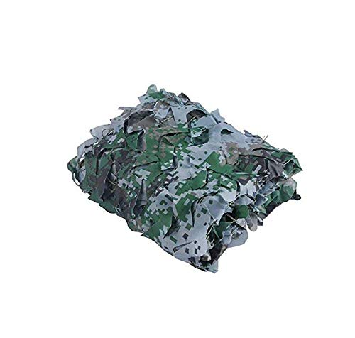 KXBYMX Filet camouflage CP camouflage fleur coupée filet Écran solaire plante de fleur de jardin (Couleur : A, taille : 8 * 10m)