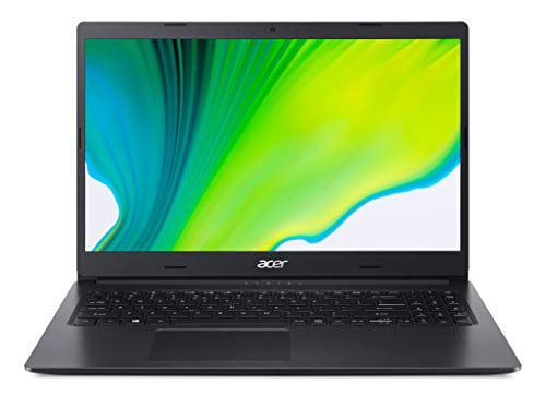 Acer Aspire 3 A315-56 15.6 inch Laptop (Intel Core i3-1005G1, 4GB RAM, 256GB SSD, Full HD Display, Windows 10 in S Mode, Black)